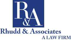 Rhudd and Associates A Law Firm